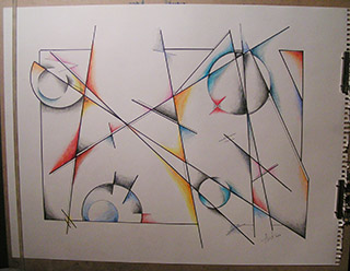 abstract sketch 2014 clean lines